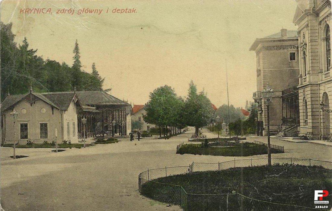Lata 1900-1915. Deptak