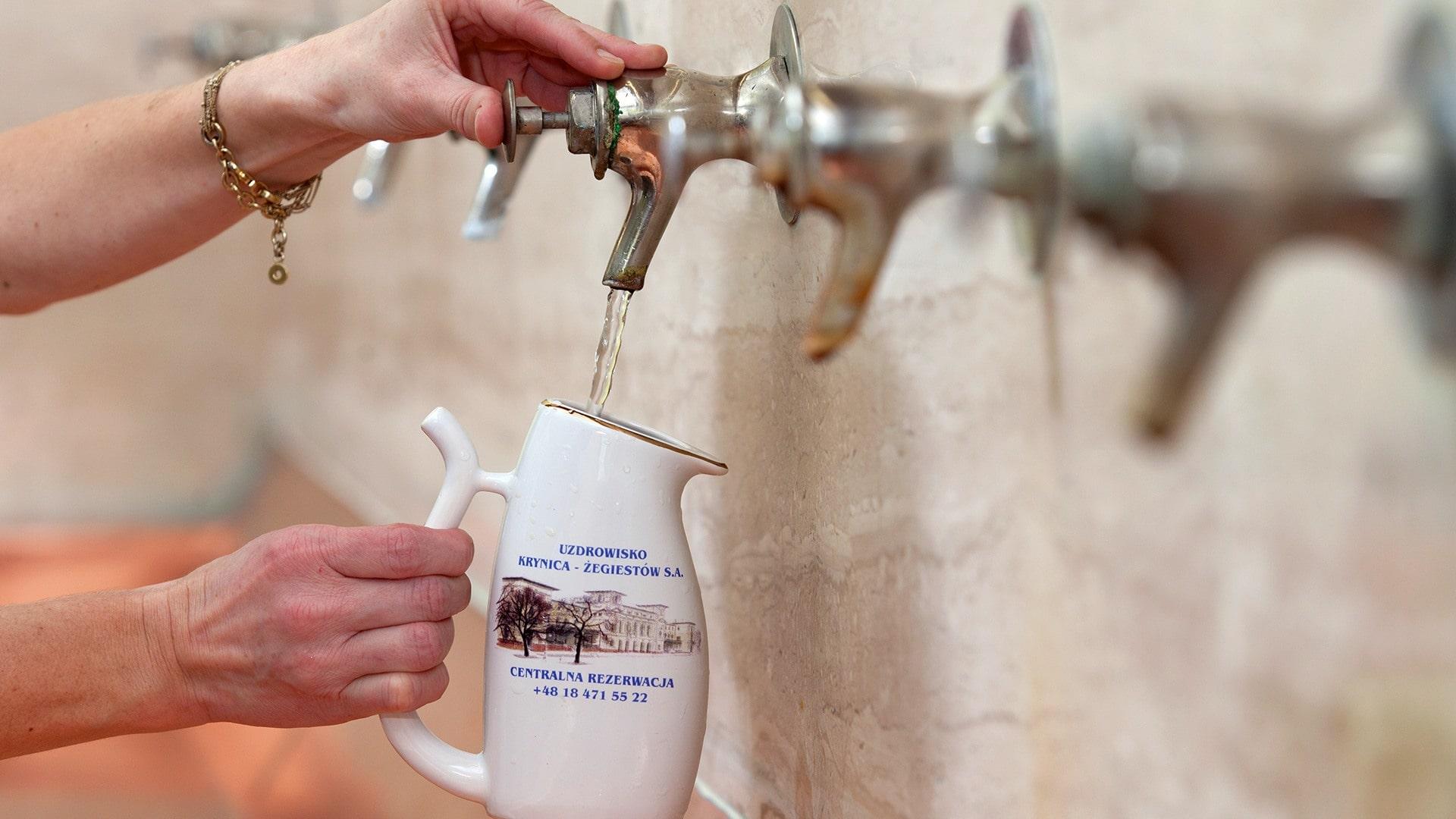Wody Mineralne i Lecznicze w Pijalnia Główna w Krynicy-Zdroju